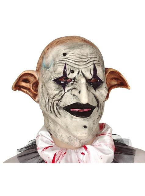 Máscara de arlequim de latex para homem