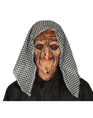 Old Witch Mask for Adults