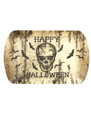 Decorative Skull Tray (39 x 24 cm)