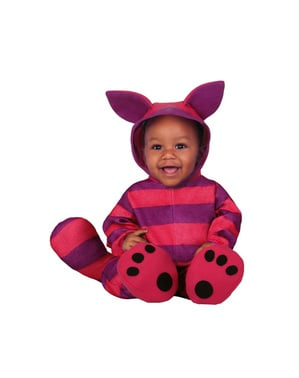 Striped Kitten Unisex Costume for Babies