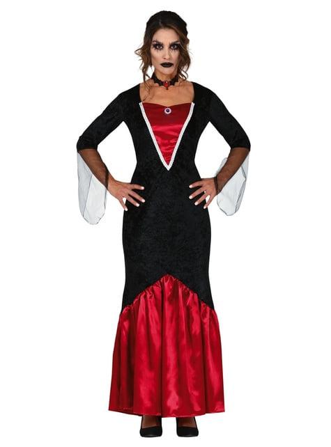 Fato de vampira elegante para mulher