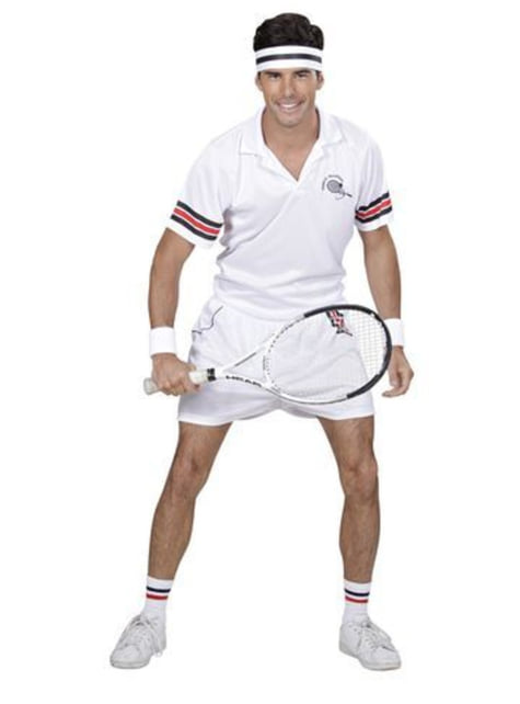 メンズテニス選手のコスチューム