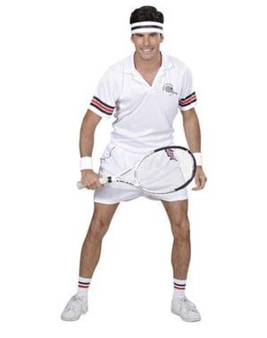 Tennis Spiller Kostyme Mann
