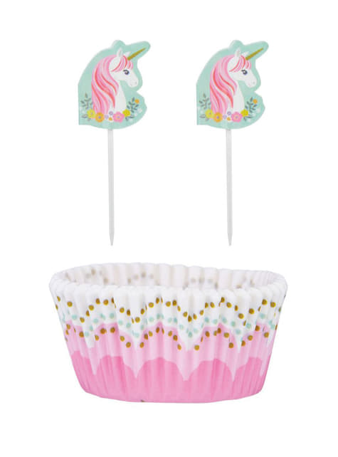 48 pieces for unicorn cupcakes - Pretty Unicorn