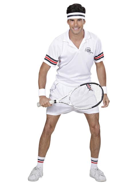 Mens Tennis Player Costume