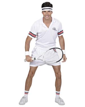 Tennisspillerkostume til mænd