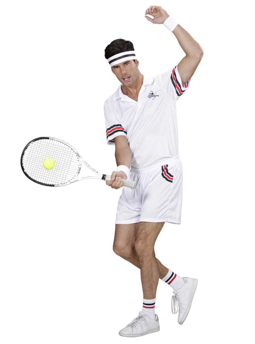 Mens Tennis Player Costume. Fast delivery | Funidelia