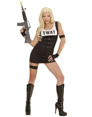 レディースSWAT Policewomanコスチューム