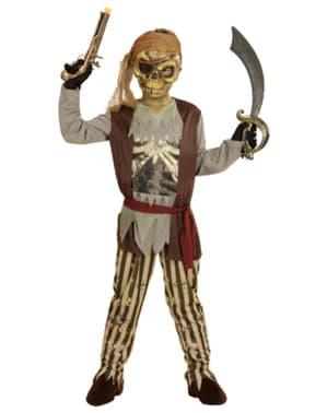 Disfraz de Pirata fantasma para niño