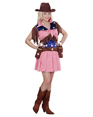 Rodeo cowgirl Maskeraddräkt