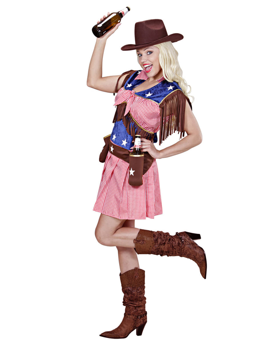 Rodeo Cowgirl Costume  sc 1 st  Funidelia & Rodeo Cowgirl Costume. The coolest   Funidelia