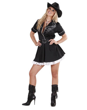 Déguisement cowgirl rodé femme