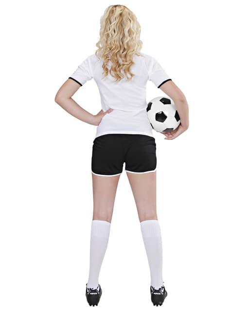 Disfraz de jugadora de fútbol Alemán para mujer - traje