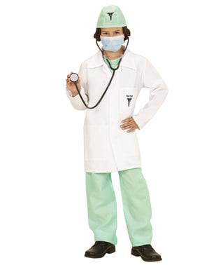 Kostium doktor dla chłopca