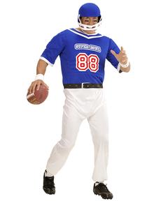 b149f1b018816 Disfraz de jugador de fútbol americano azul ...  class
