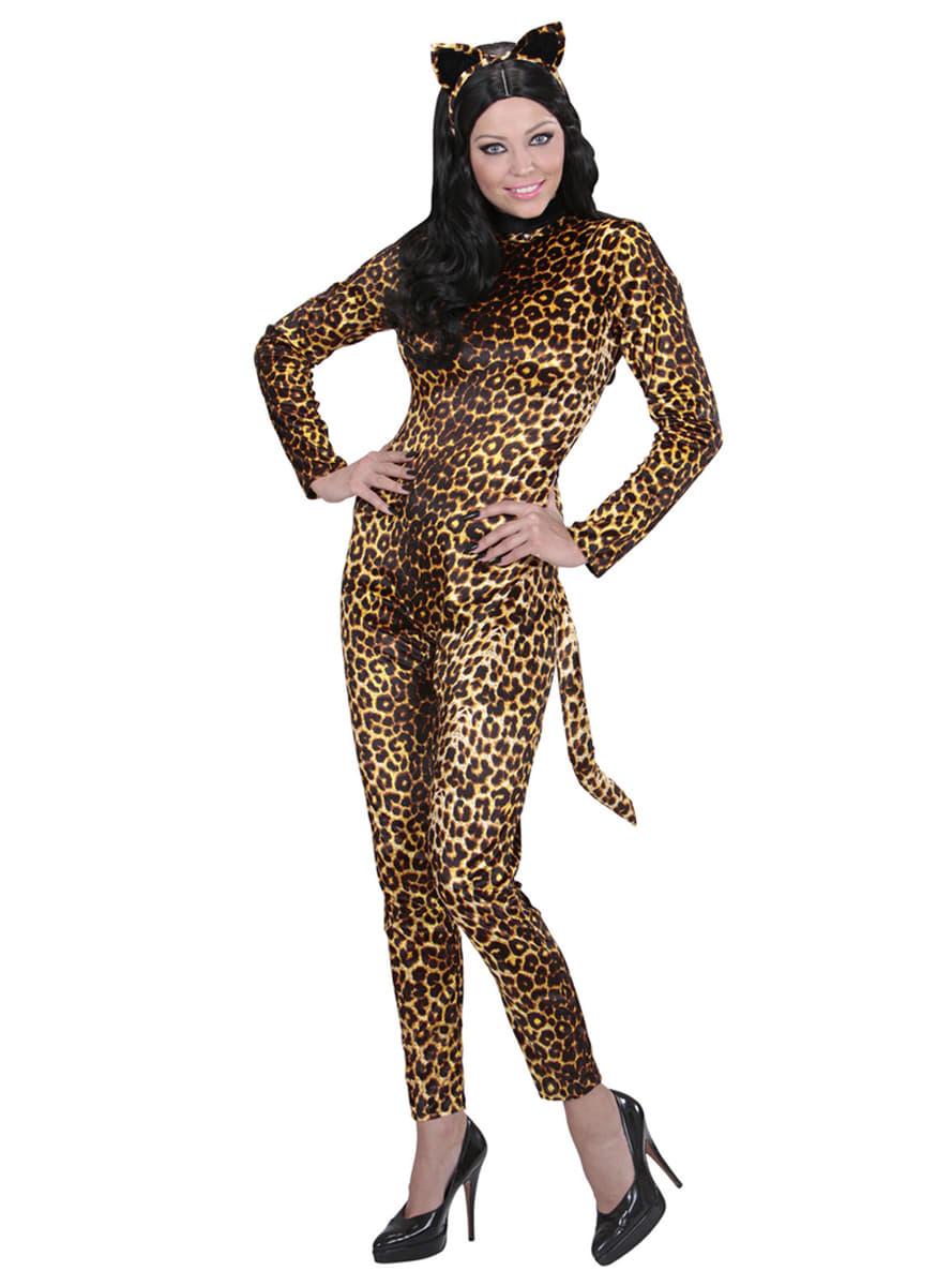 leoparden kost m f r damen funidelia. Black Bedroom Furniture Sets. Home Design Ideas