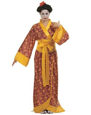 Japansk Geisha Jente Kostyme Dame