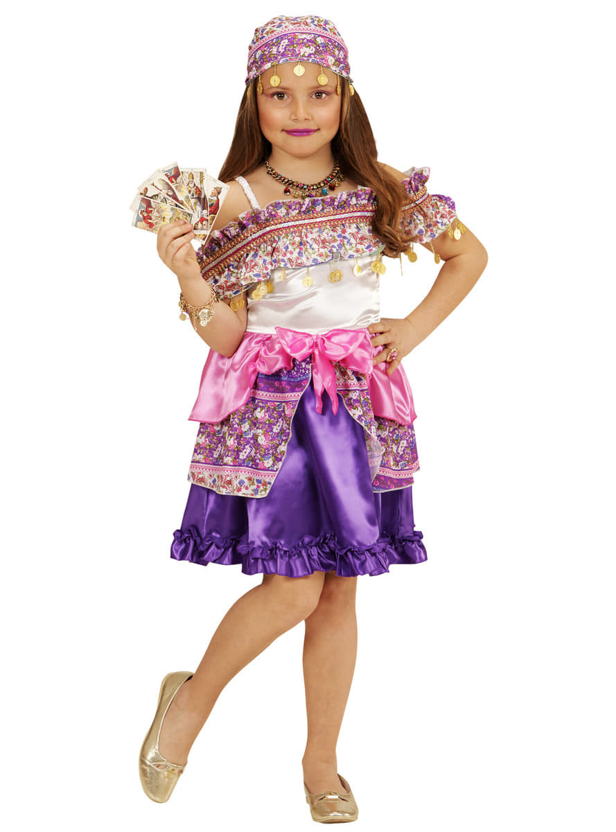 Girls Gypsy Fortune Teller Costume The Coolest Funidelia