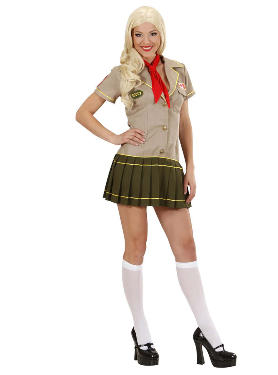Naughty Girl Scout Costume  sc 1 st  Funidelia & Naughty Girl Scout Costume. Fast delivery | Funidelia