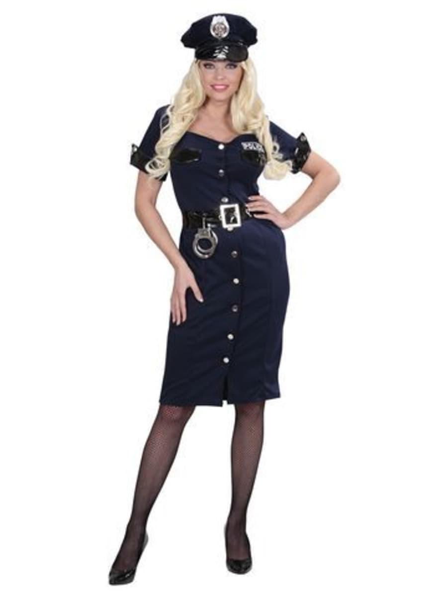 Womens Elegant Policewoman Costume  sc 1 st  Funidelia & Womens Elegant Policewoman Costume. Fast delivery | Funidelia