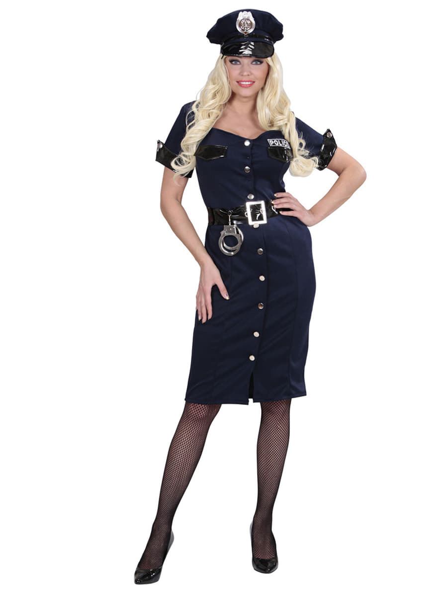 womens elegant policewoman costume. fast delivery | funidelia