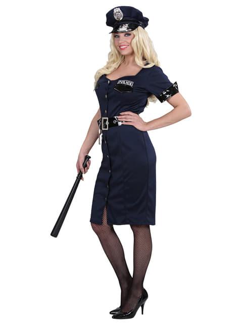 Disfraz de policía elegante para mujer - original