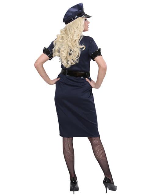 Disfraz de policía elegante para mujer - traje