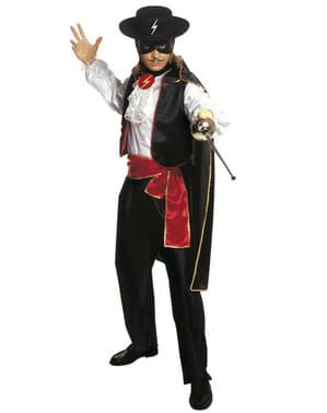 Zorro Maskeraddräkt Herr