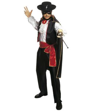 Disfraz de caballero enmascarado para hombre