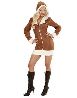Pilotin Kostüm für Damen