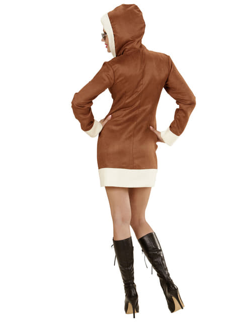 Disfraz de aviadora para mujer - traje