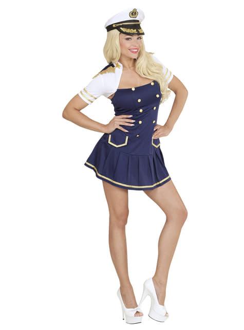 Disfraz de capitana de barco para mujer - mujer