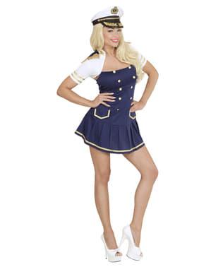 Costum de căpitan de barcă pentru femeie