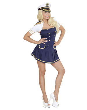 Schiffskapitänin Kostüm für Damen