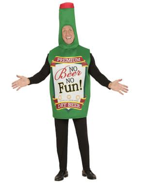 Mens Beer Bottle Costume