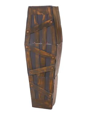 Светещ декоративен ковчег със звук за Хелоуин
