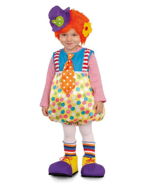Multicolor Clown Costume for Kids