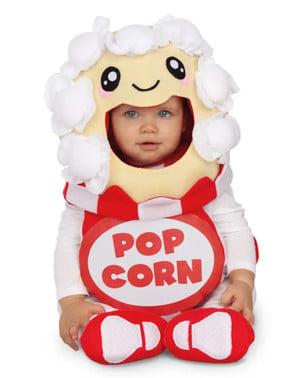 Kostým pro miminka krabice s popcornem