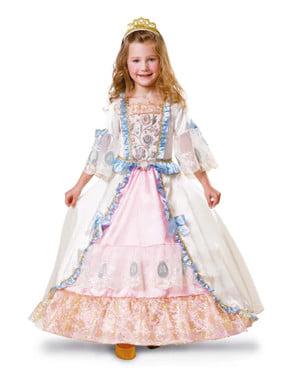 Barokový éra kostým pre dievčatá
