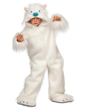 Yeti kostuum voor jongens