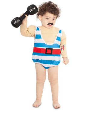 Strongman Costume for Babies