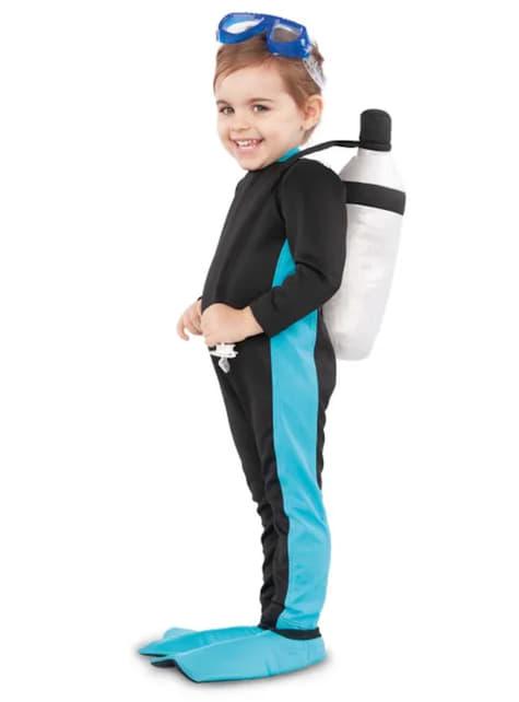 Disfraz de submarinista infantil