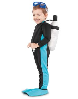 Dykare maskeraddräkt för barn