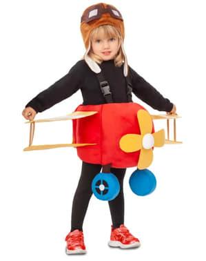 Sportflugzeug Kostüm für Kinder