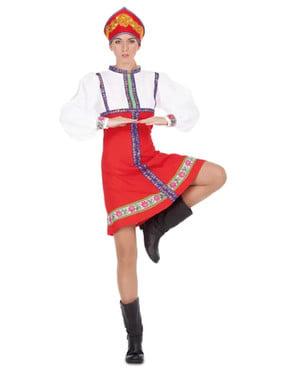 Rysk Dansare maskeraddräkt för henne