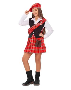 Fato de escocesa para menina