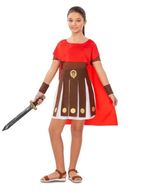 Roman Gladiator Costume for Girls