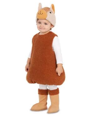 Alpaca kostuum voor kinderen
