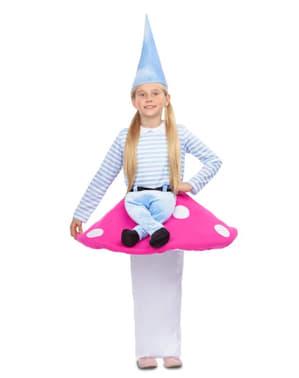 Disfraz de gnomo Ride On para niña