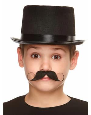 Geschwungener Schnurrbart für Jungen